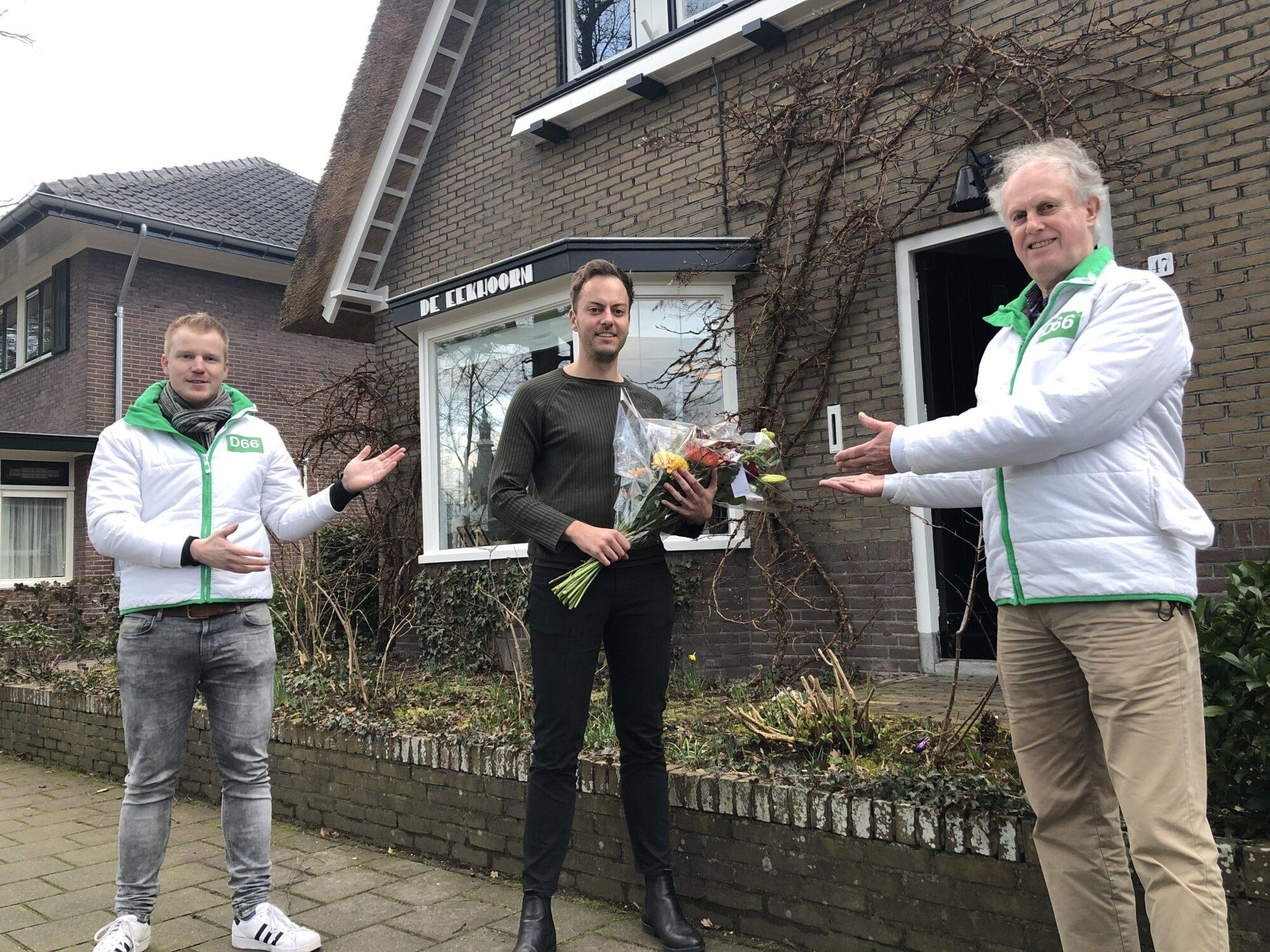 D66 Apeldoorn verwelkomt 200e lid