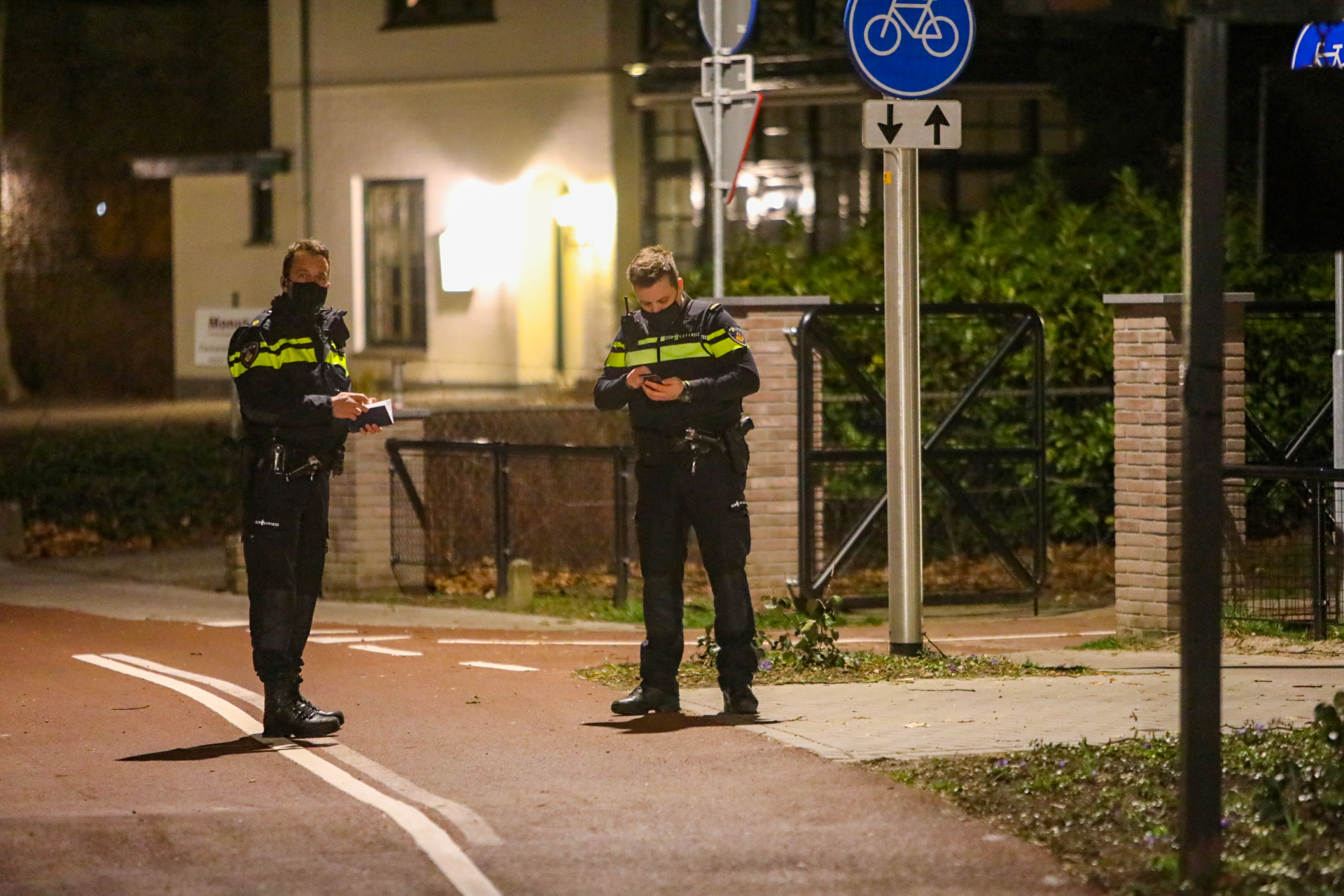 Voetganger aangereden in Vaassen; bestuurder rijdt door