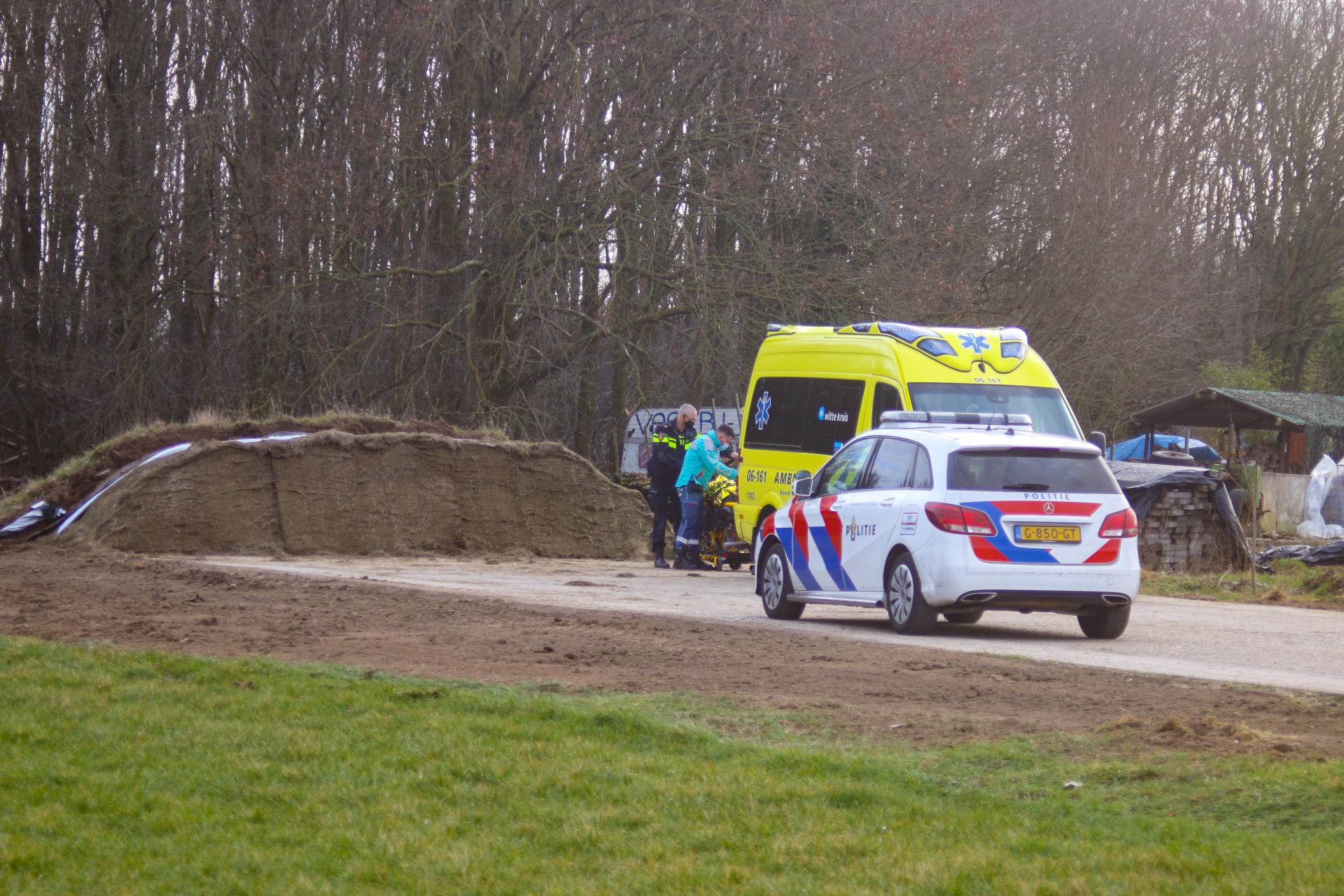 Gewonde bij ongeval in Vierakker.