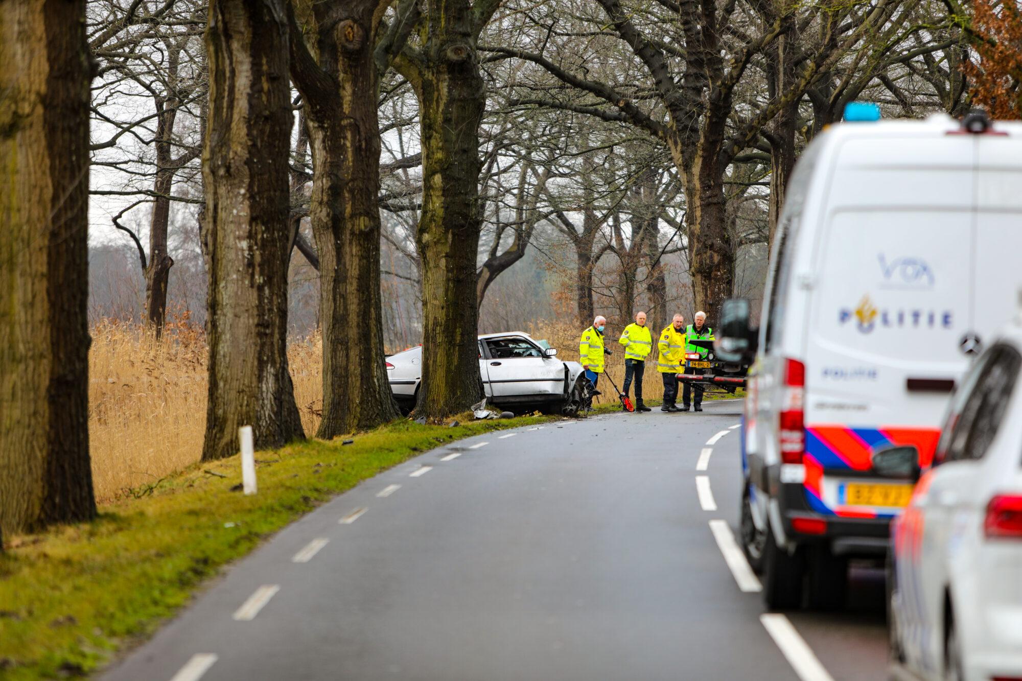 Automobilist uit Raalte komt om bij verkeersongeluk op Kanaal Zuid bij Apeldoorn.