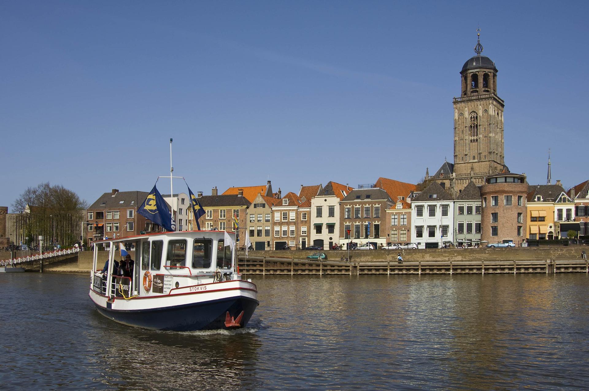 In Deventer binnenstad alleen bestel- en vrachtverkeer zonder uitlaatgassen