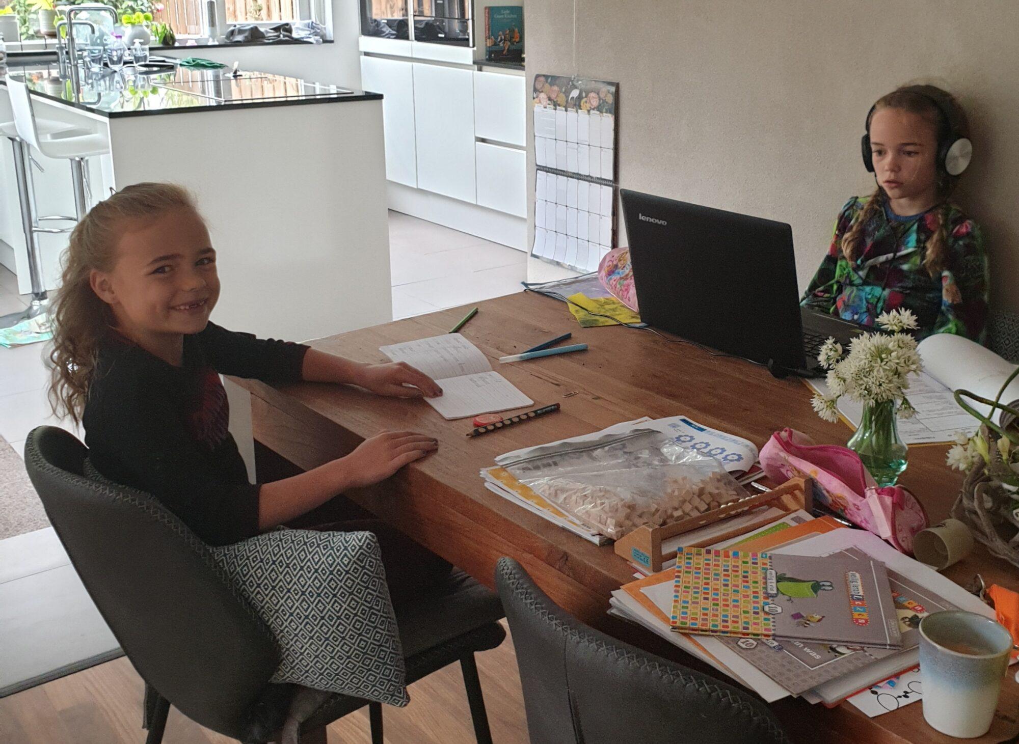 'Opvoeding is zwaar in coronatijd, maar ook meer rust'