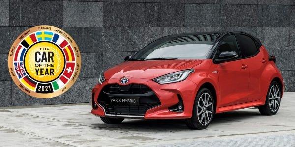 Toyota Yaris Europese Auto van het Jaar 2021