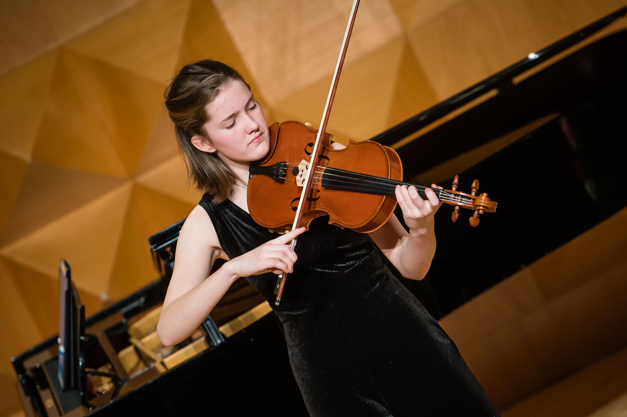 Norea (16) uit Zutphen speelt 'de eerste viool'