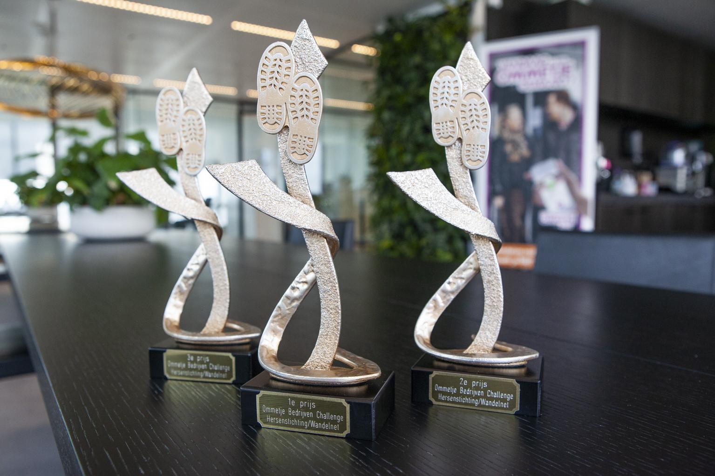 PinkRoccade Ziekenhuizen uit Apeldoorn in top drie bij eerste Ommetje Bedrijven Challenge