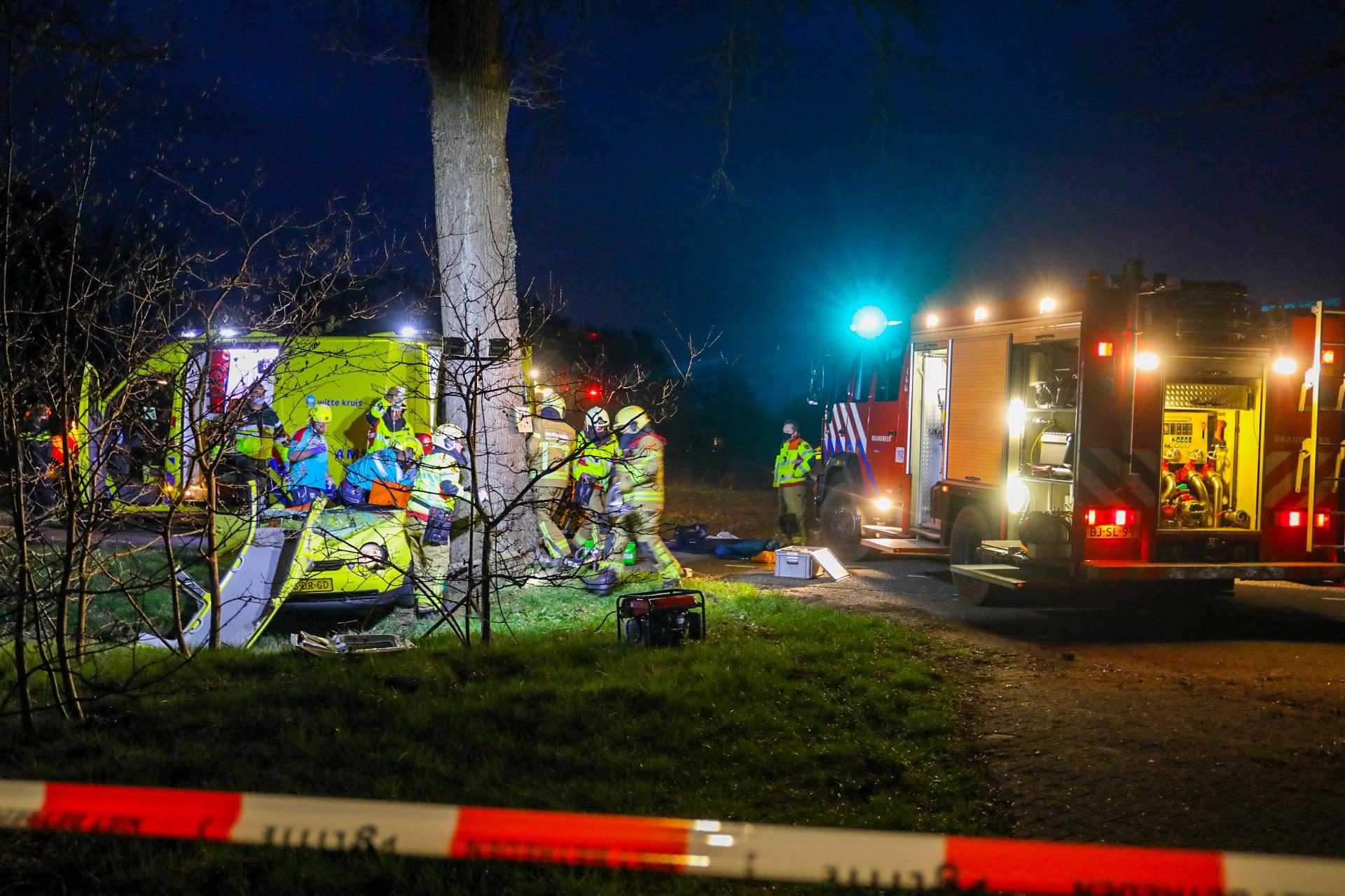 20- jarige man uit Rheden overleden na ernstig ongeval in Vaassen