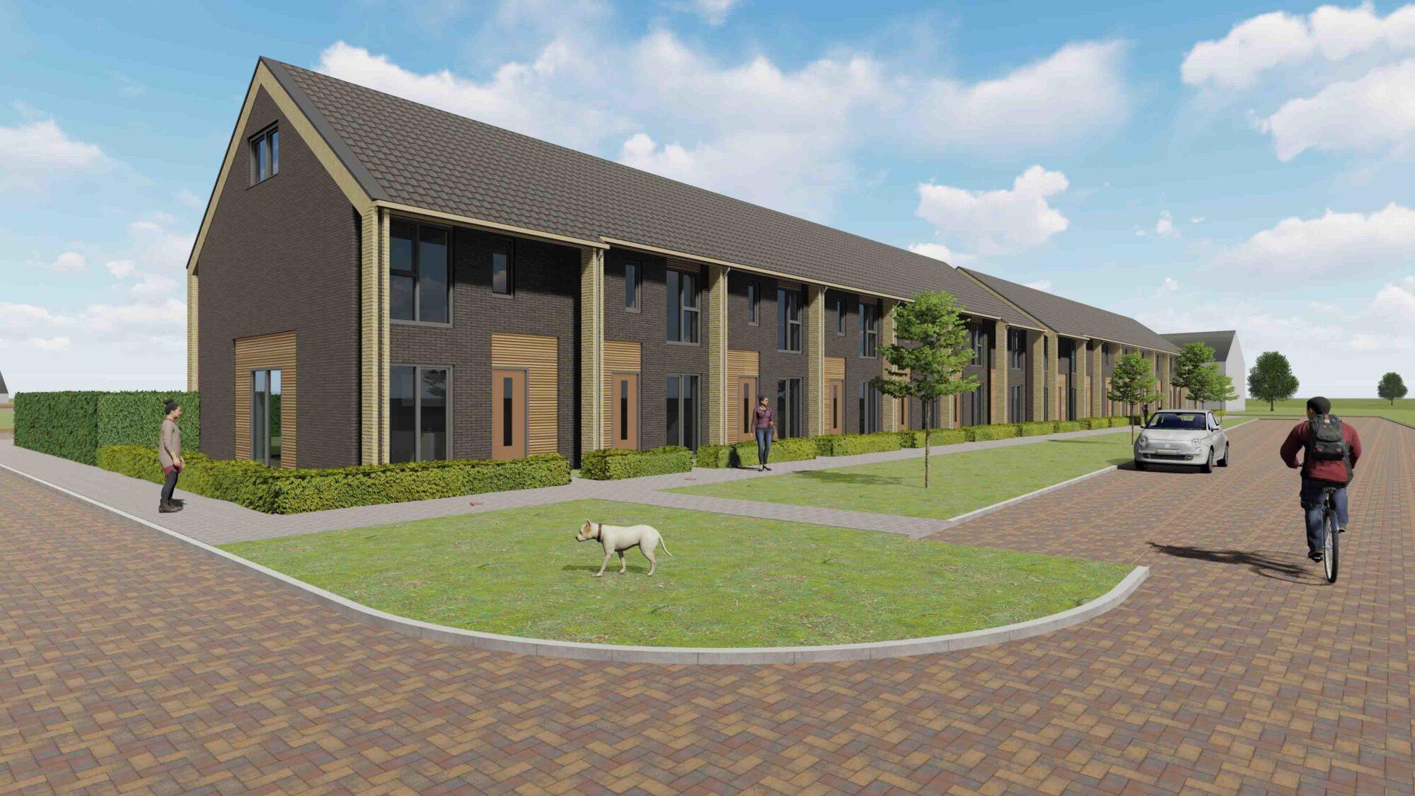 Ons Huis bouwt aan gemengde wijk in Zuidbroek