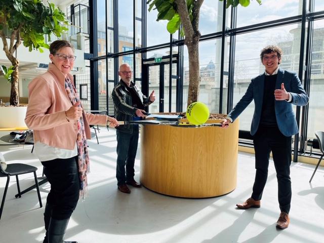 OldStars tennis van start in Apeldoorn