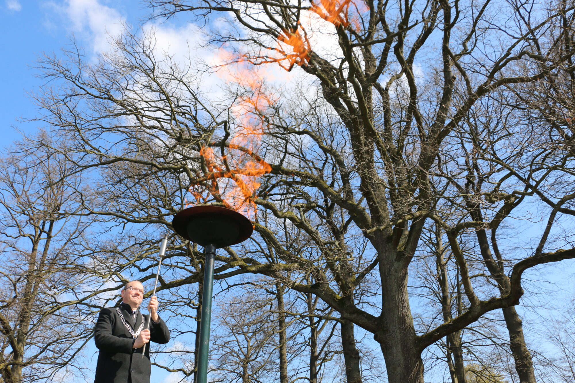 76e herdenking bevrijding Apeldoorn