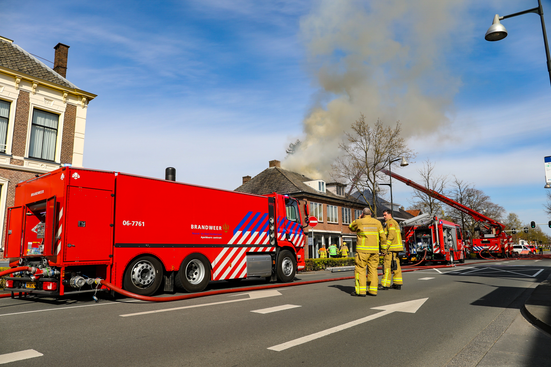 Bewoner aangehouden na uitslaande brand