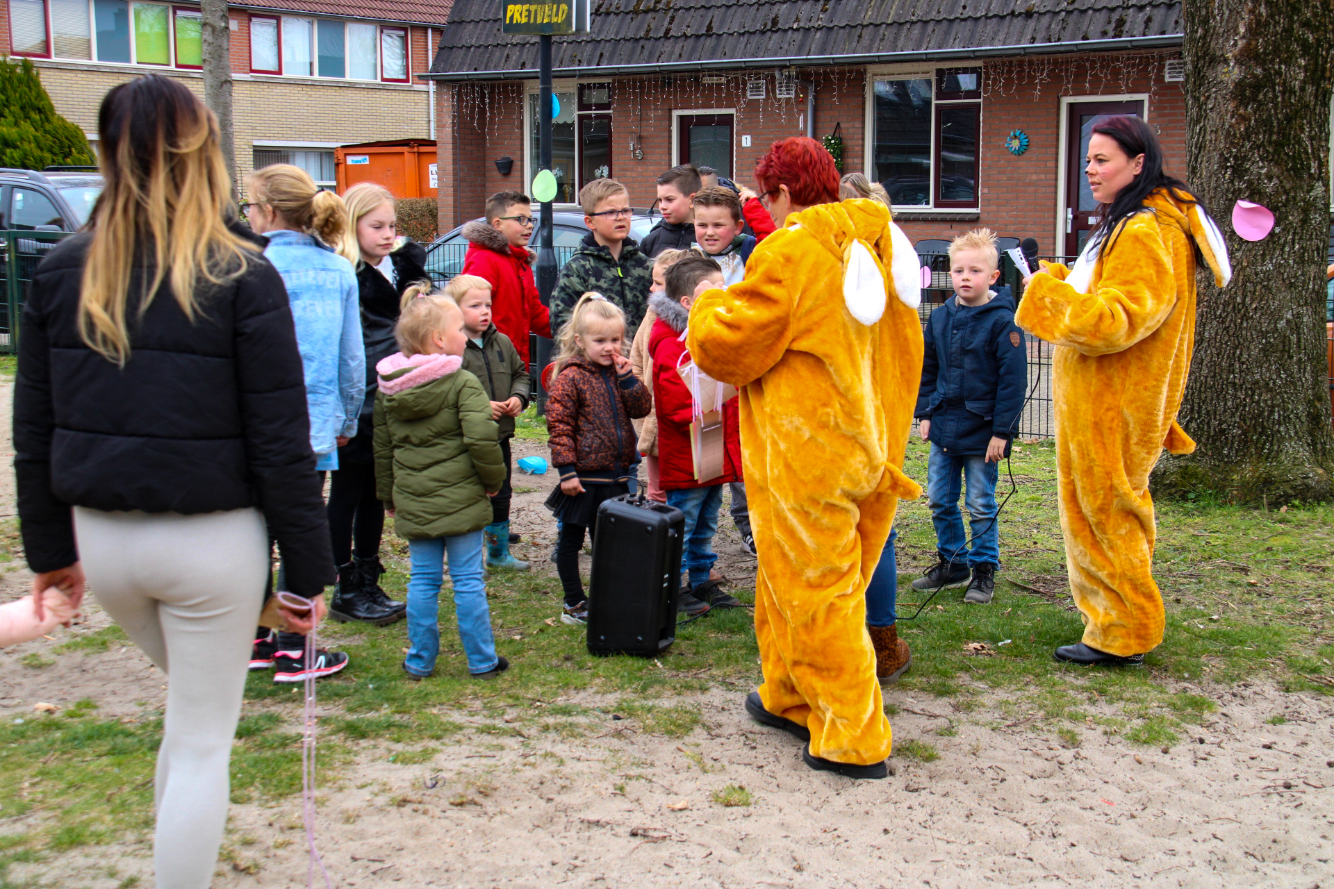 Ouders organiseren paasevenement voor kinderen in Apeldoorn