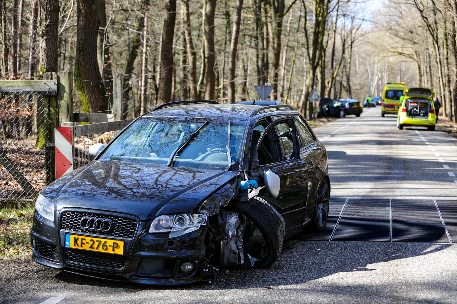 Gewonden bij ongeval tussen Uddel en Hoog Soeren
