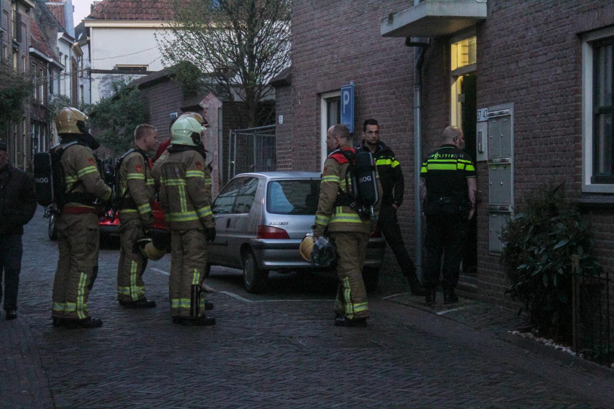 Pannetje op het vuur; brandweer rukt met spoed uit