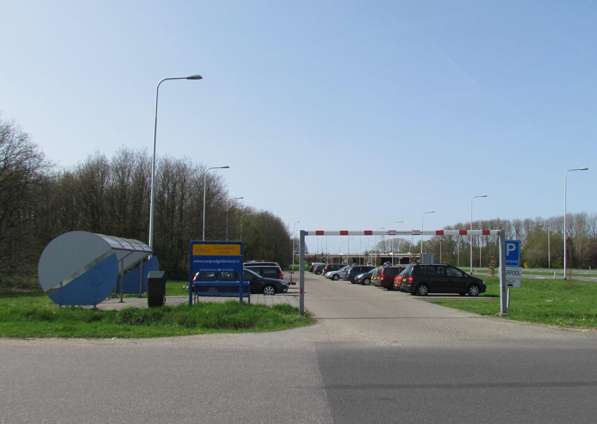 Nieuwe inrichting N345 tussen carpoolplaats De Kar en Sluinerweg