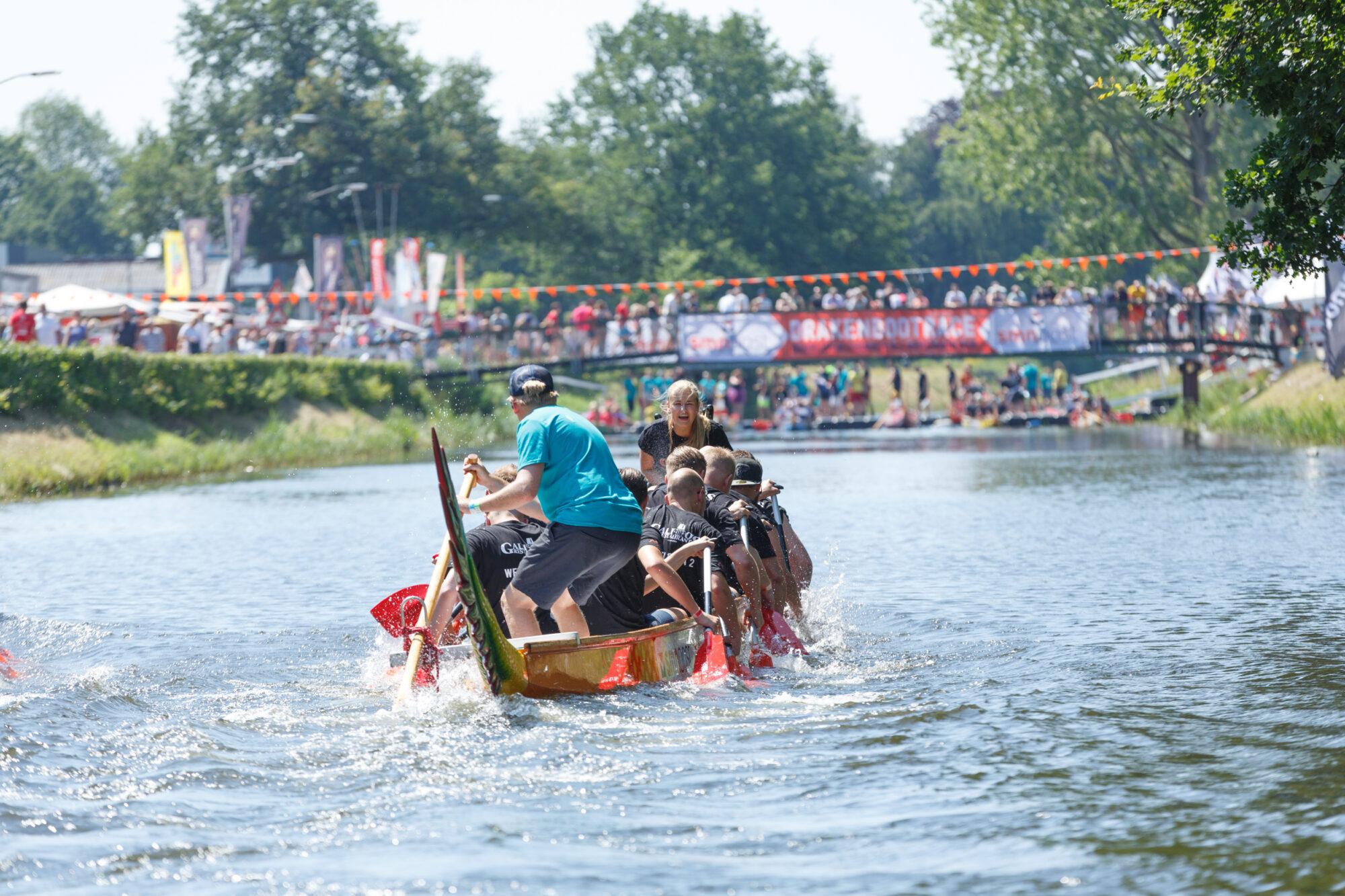 Grolsch Drakenbootfestival gaat dit jaar door!