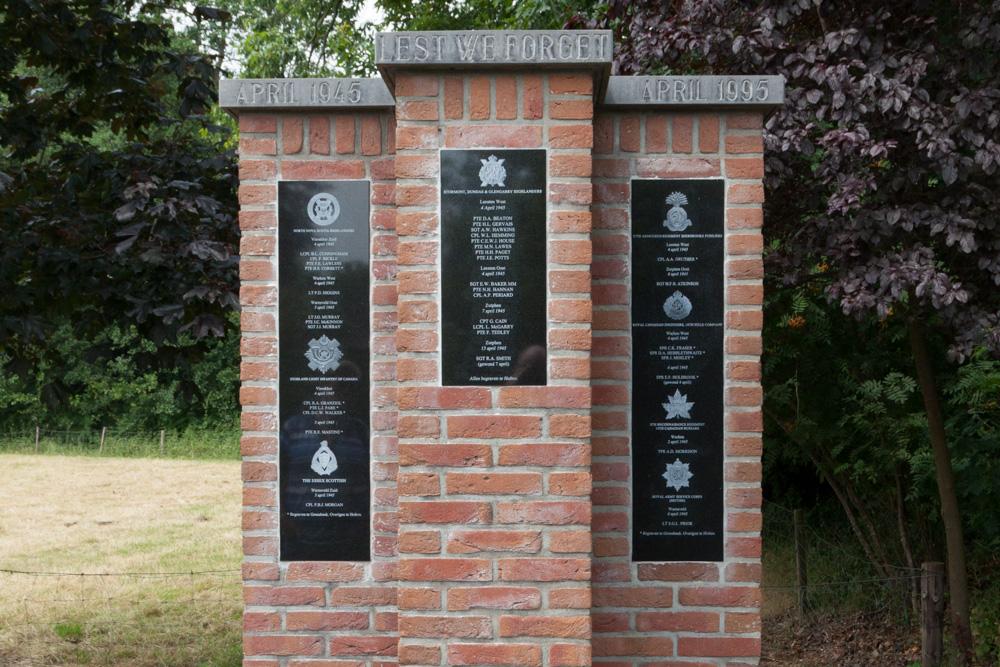 Sobere herdenkingen van de Tweede Wereldoorlog in Warnsveld