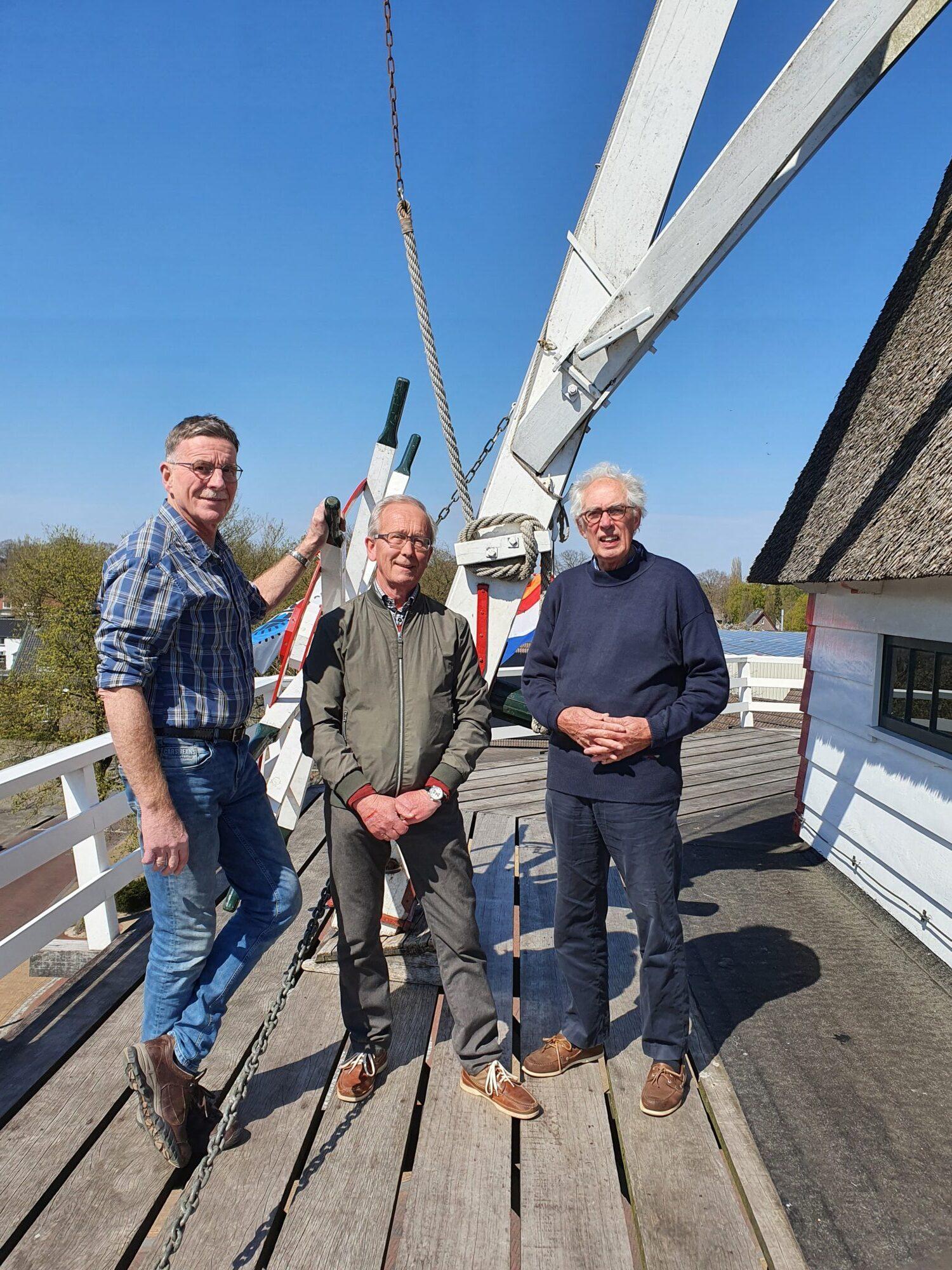 Afscheid bestuursleden Vereniging Vrienden Van Daams' Molen in Vaassen