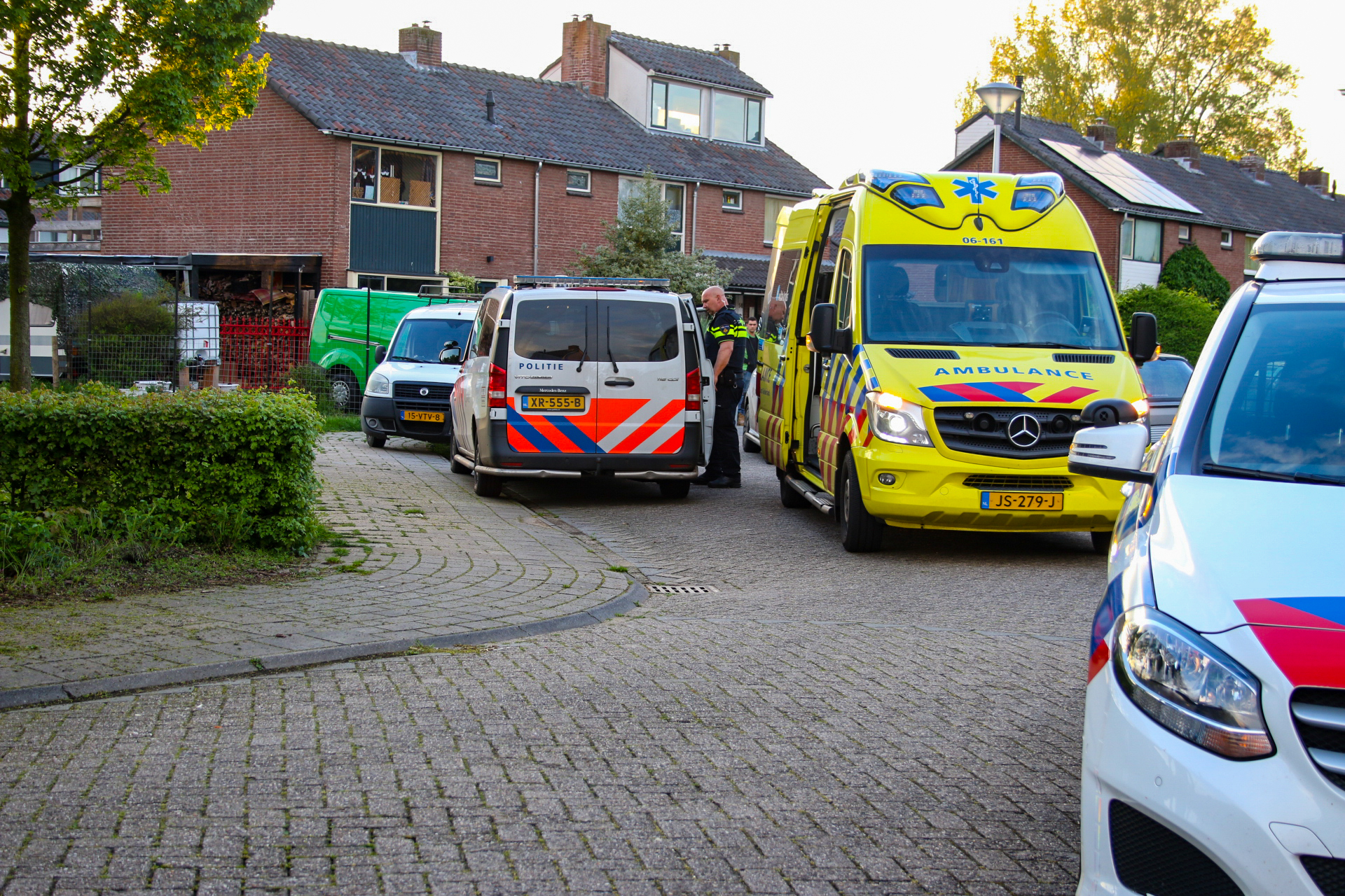 Gewonden bij steekpartij in Zutphen; Verdachte aangehouden
