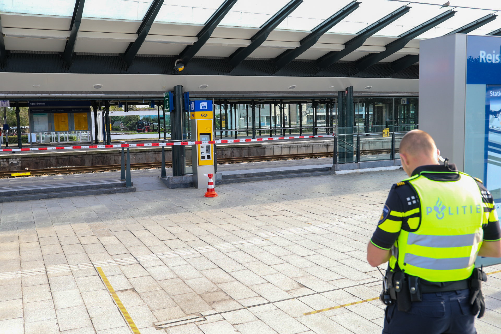 "Station ontruimd wegens ""verdacht"" pakketje"