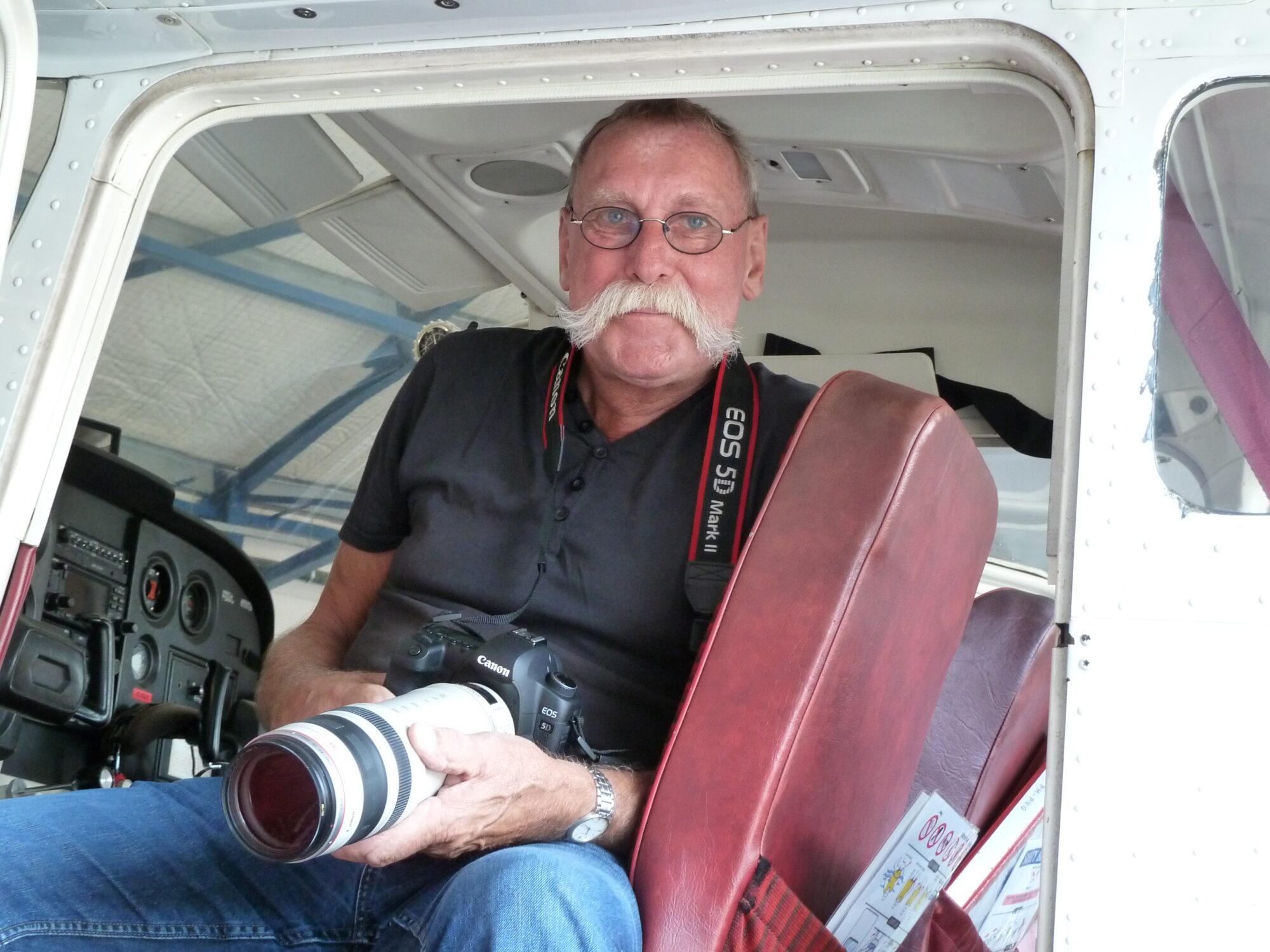 Hans Snelleman blikt terug op 45 mooie jaren als luchtfotograaf