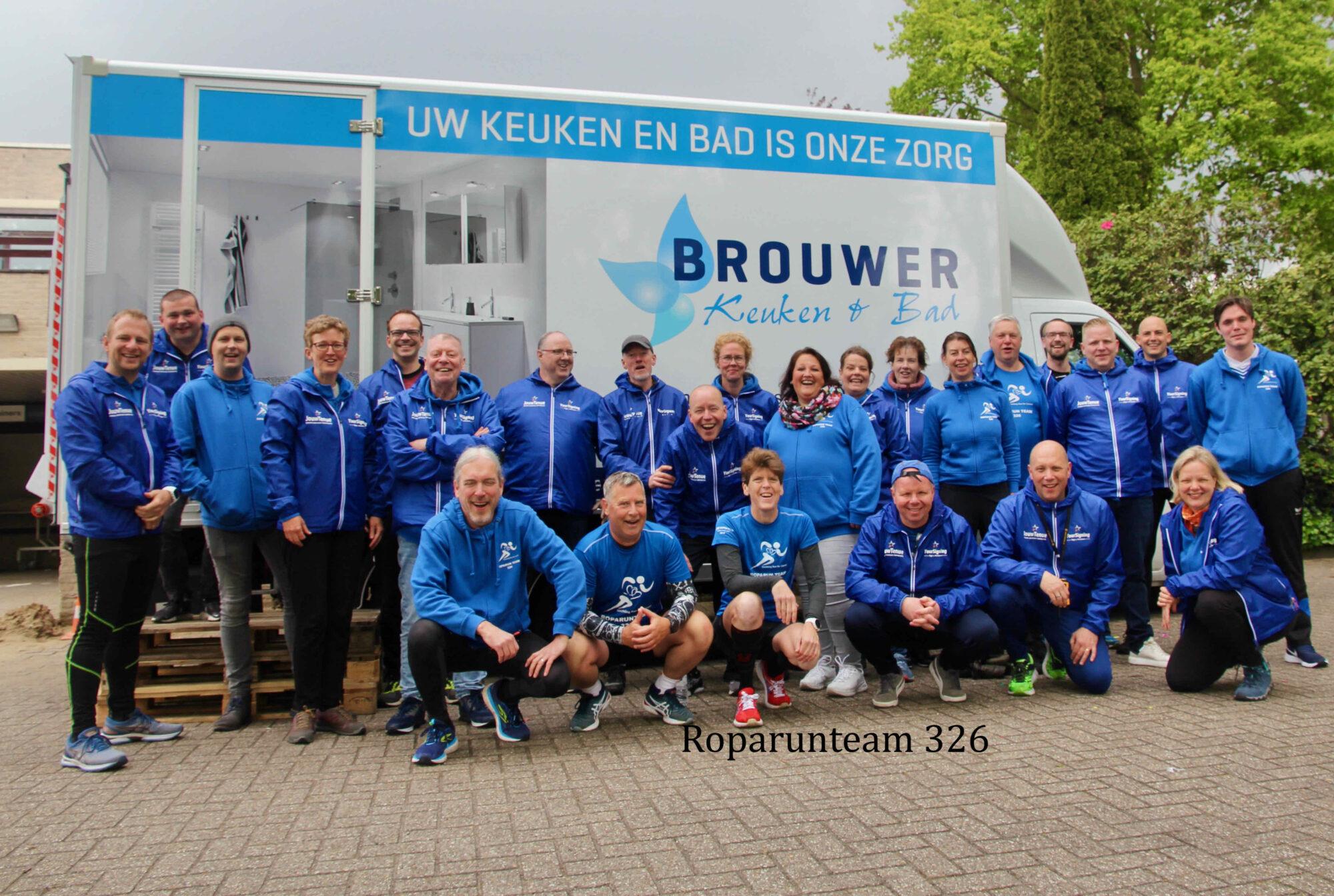 Training van roparunners uit Deventer levert geld op