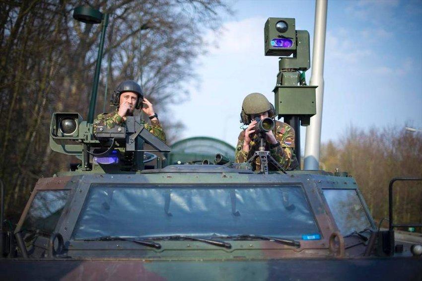 Militairen oefenen ook in Voorst