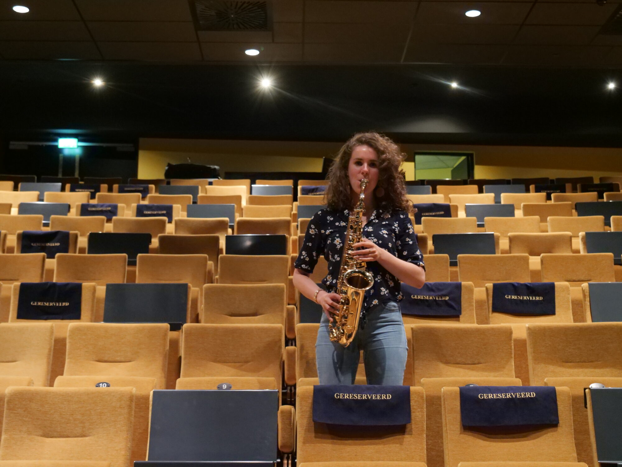 Kirsten wil de jazz terug in Apeldoorn