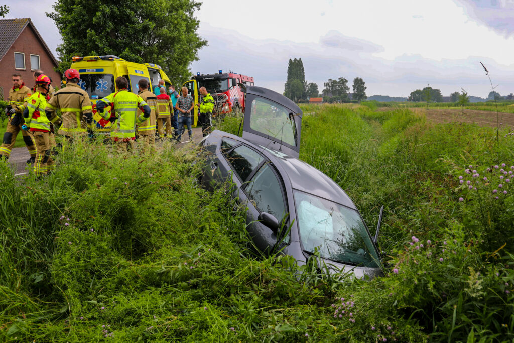 Gewonden bij ongeluk in klarenbeek.