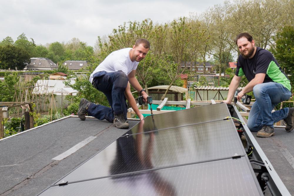 Volkstuinvereniging in Zutphen kiest voor duurzame energie