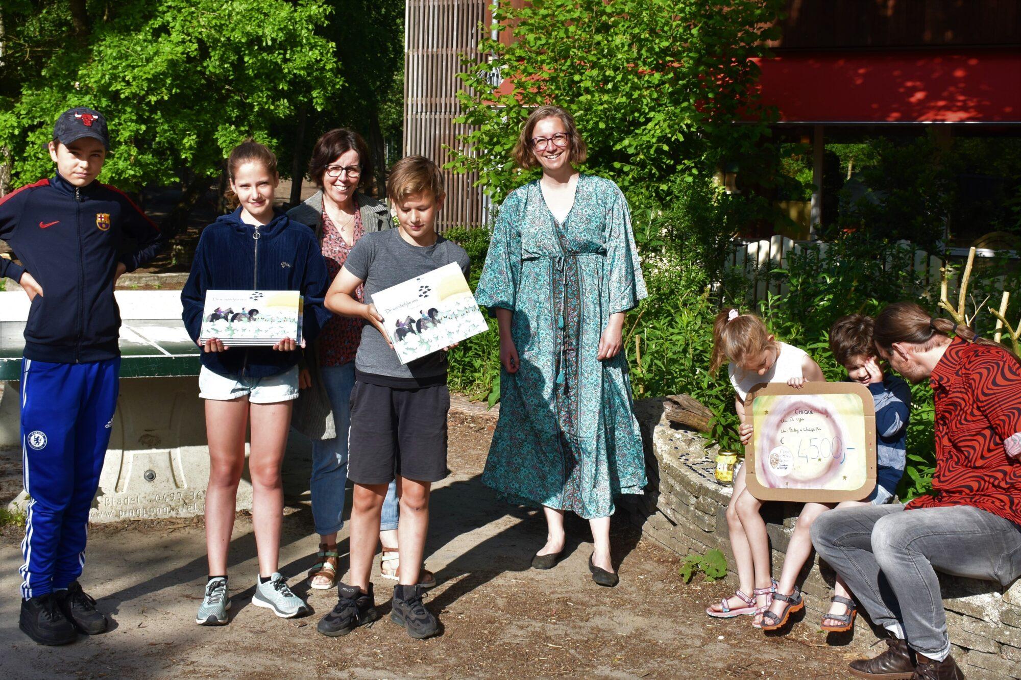 'De Wonderlijke Reis' gaat door; school haalt recordbedrag op met sponsorloop