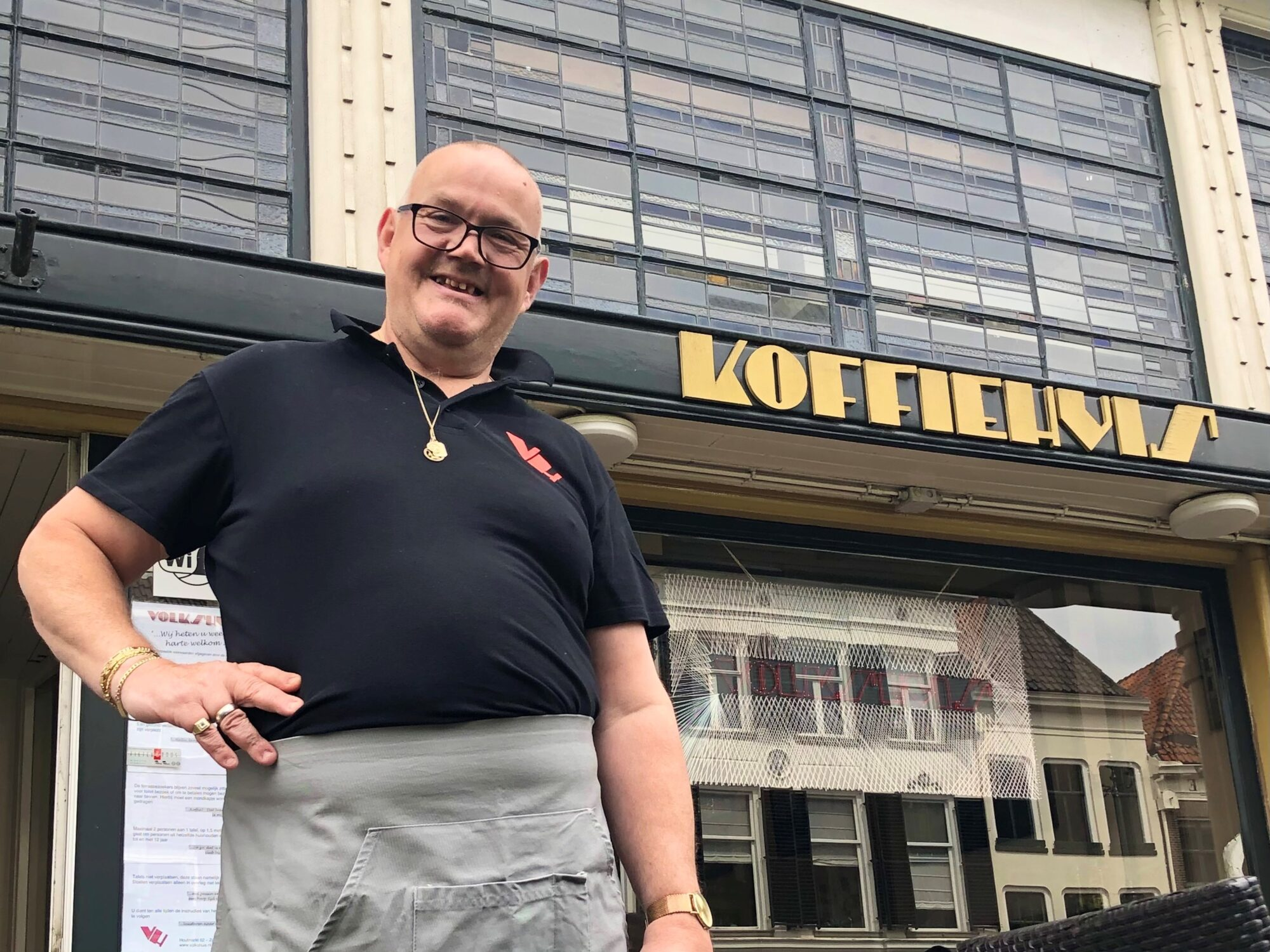 Al 25 jaar arbeidsmatige dagbesteding bij het Volkshuis Zutphen: 'Gastheer Ko is jubilaris en hij trakteert'