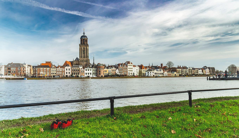 Terugval in aantal overnachtingen in Deventer valt mee