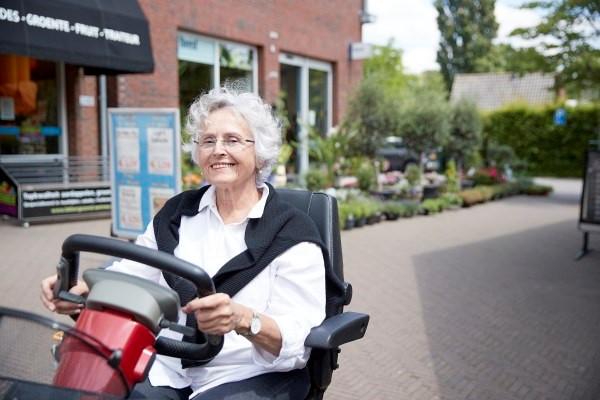 Veilig Verkeer Nederland en Ergotherapie Nederland lanceren scootmobieltraining