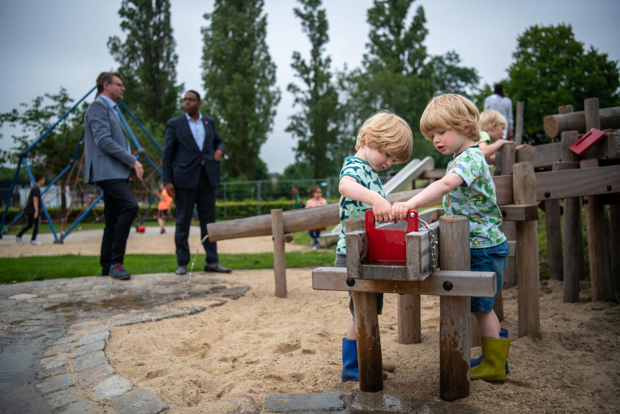 Speelvertier in Apeldoornse wijk Staatsliedenkwartier