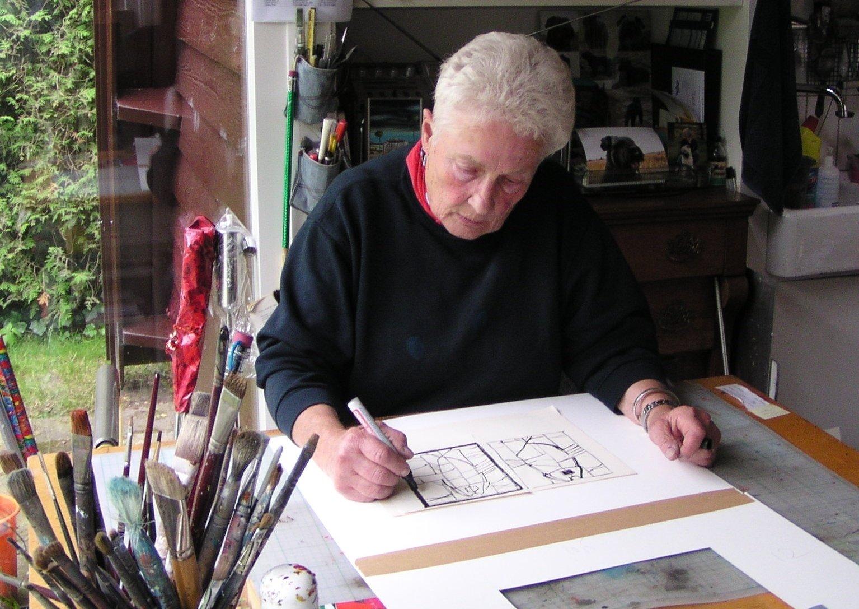 Eerbetoon aan grondlegger van kunsteducatie Gaby Bovelander