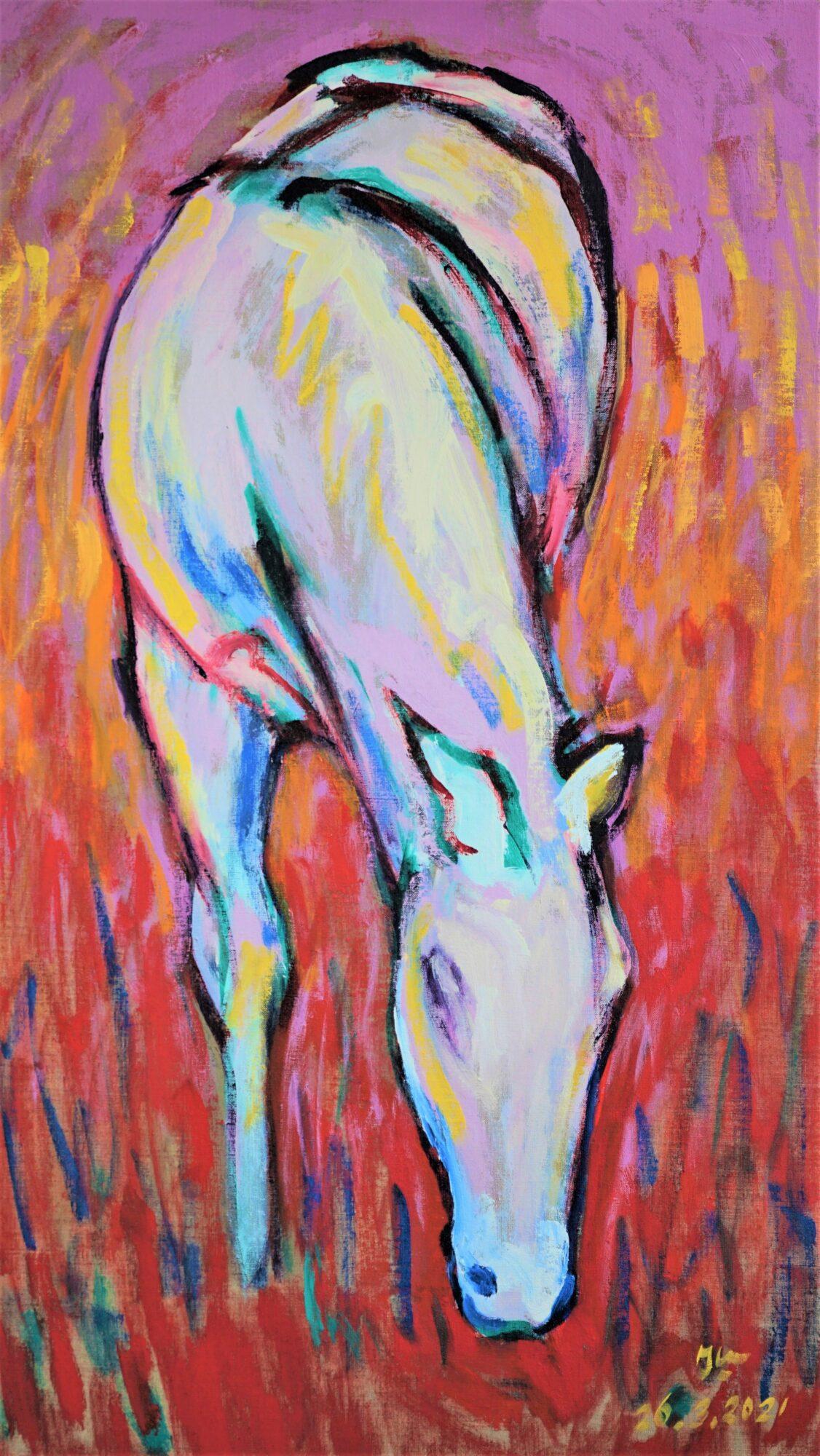 Nieuwe deelnemer Kunstkamer Vaassen heeft fascinatie voor paarden en spechten