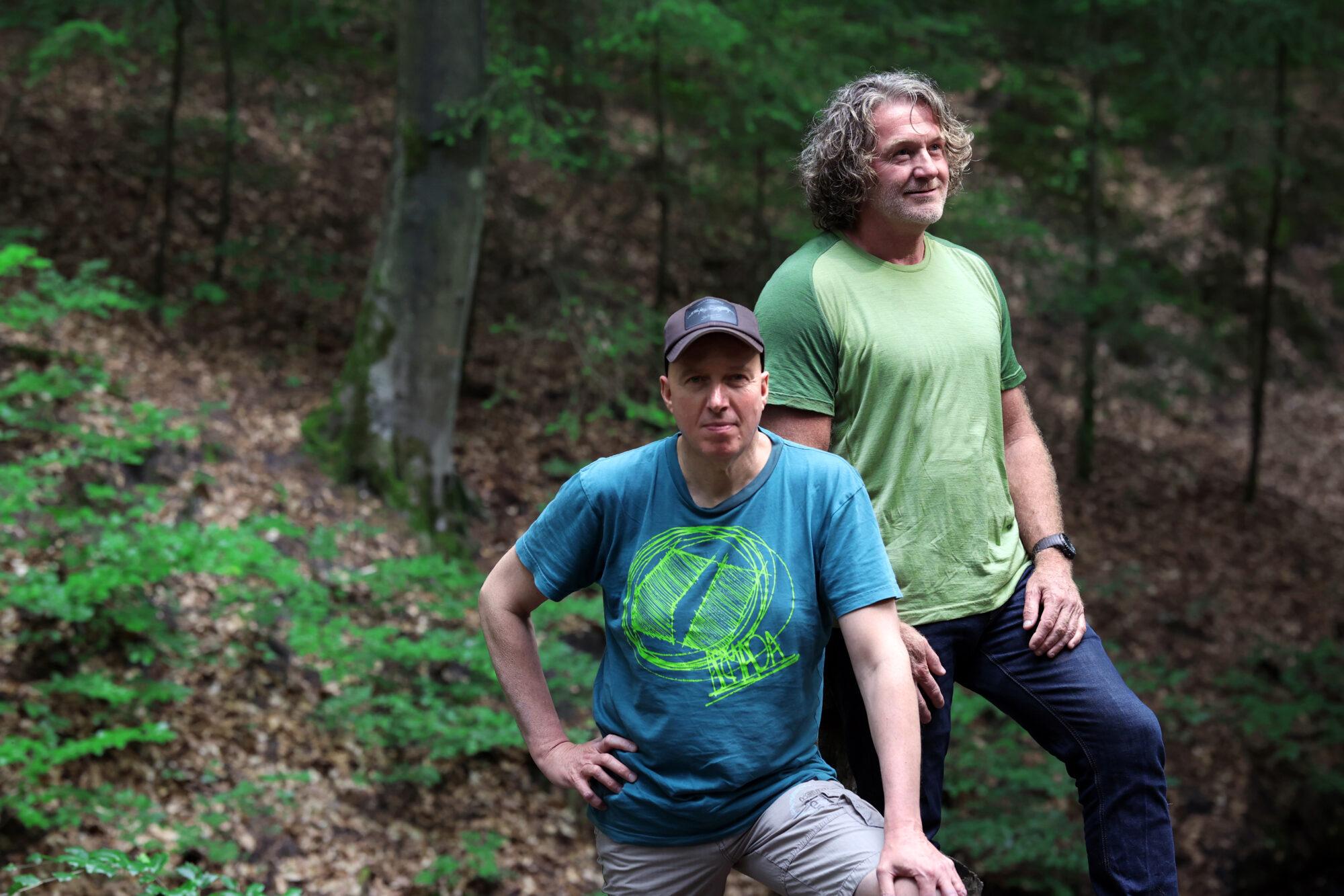 Wandelen in het spoor van de wolf met Rob en Wim