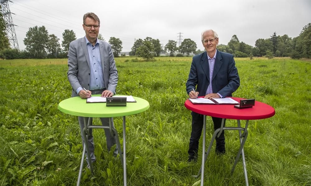 Meer dan duurzame energie op zonnepark Brinkenweg