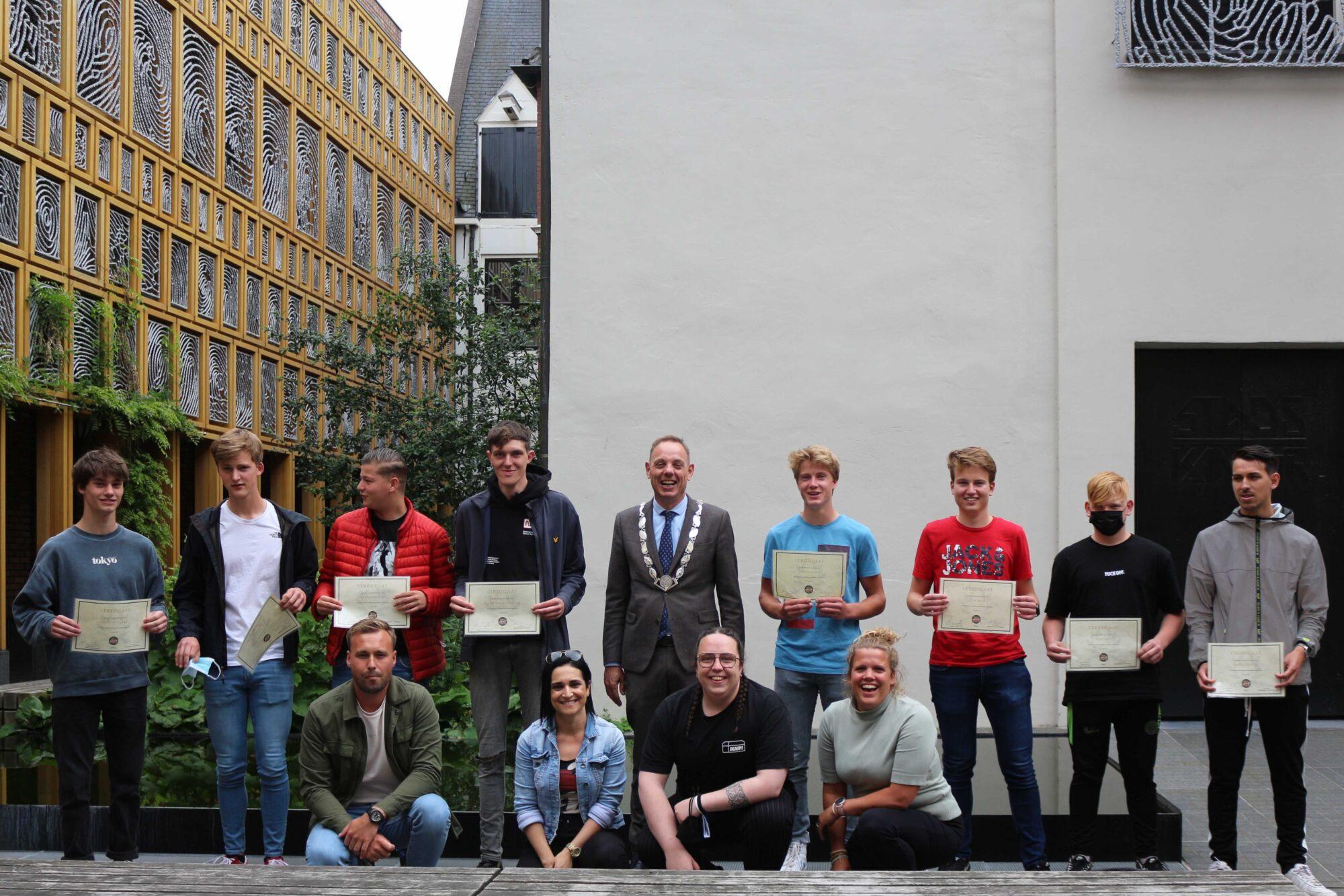 Young Leaders-training zet Deventerse jongeren in hun kracht