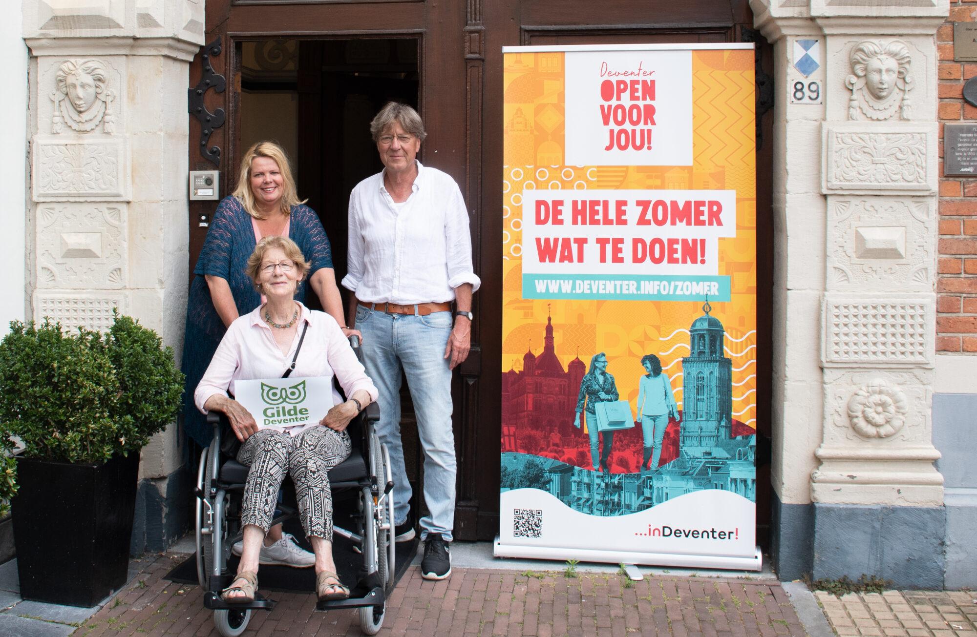 Stadswandelingen in Deventer nu ook toegankelijk voor mindervaliden
