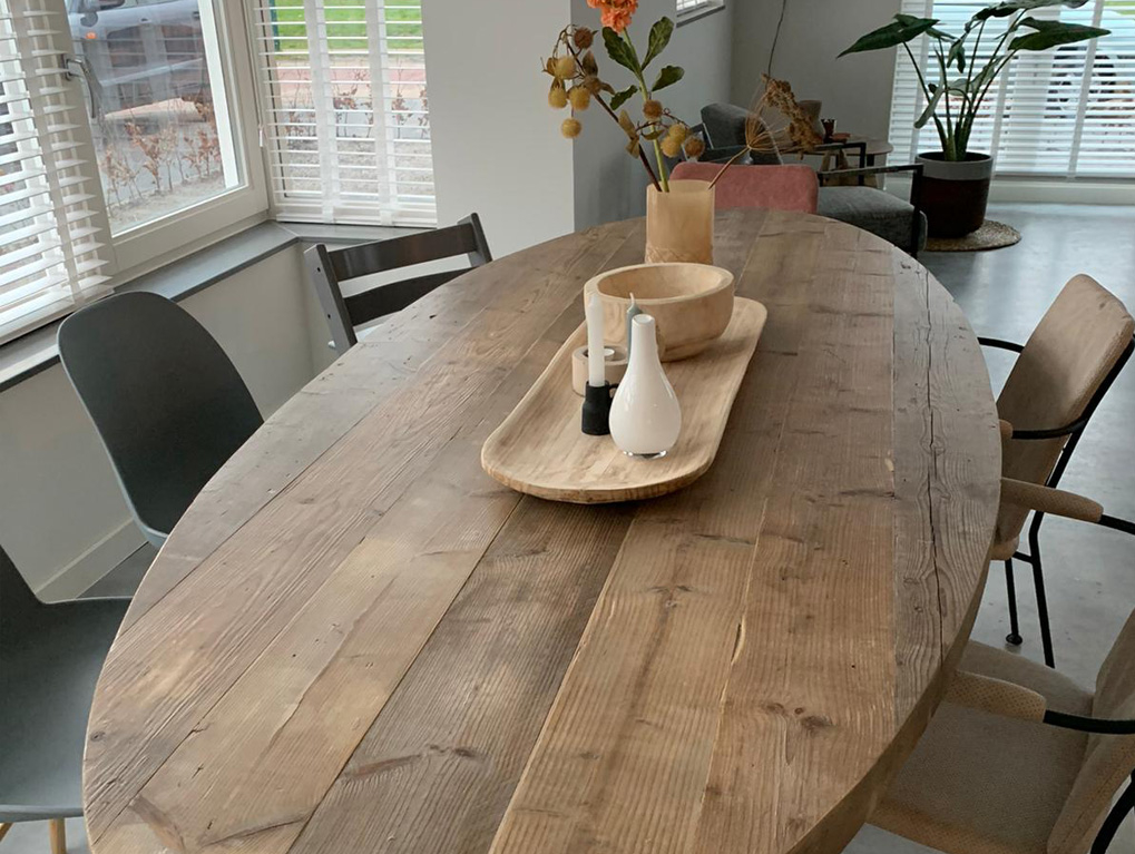 Geef je interieur een boost met steigerhout