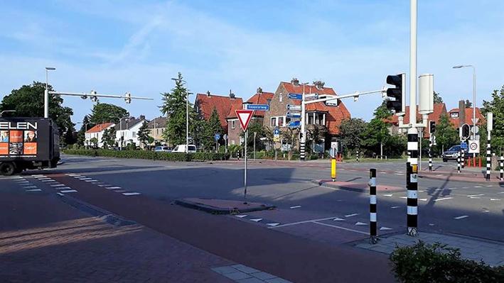 Nieuw ontwerp voor kruispunt