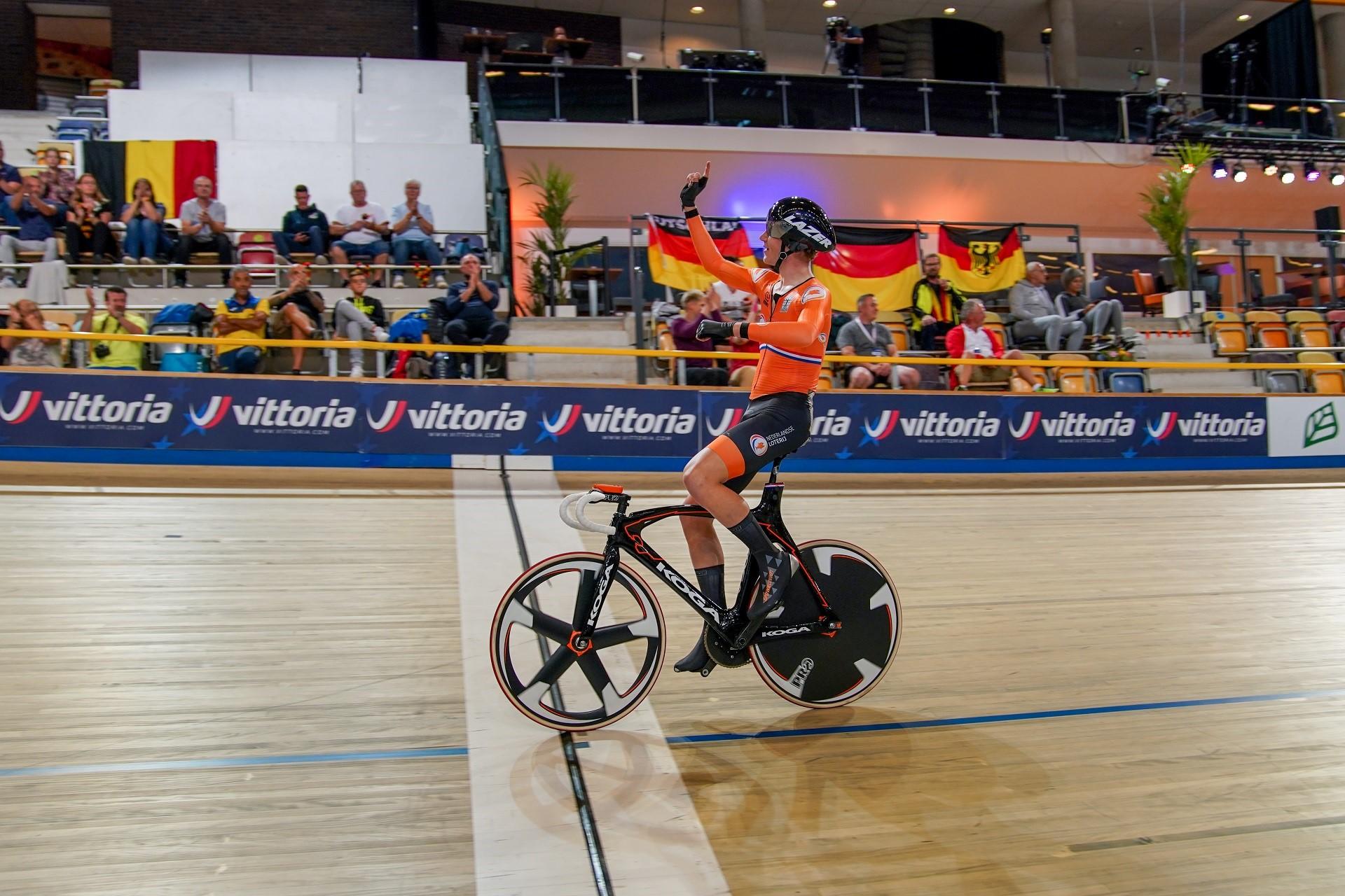 Nederland begint EK Baan met goud en brons