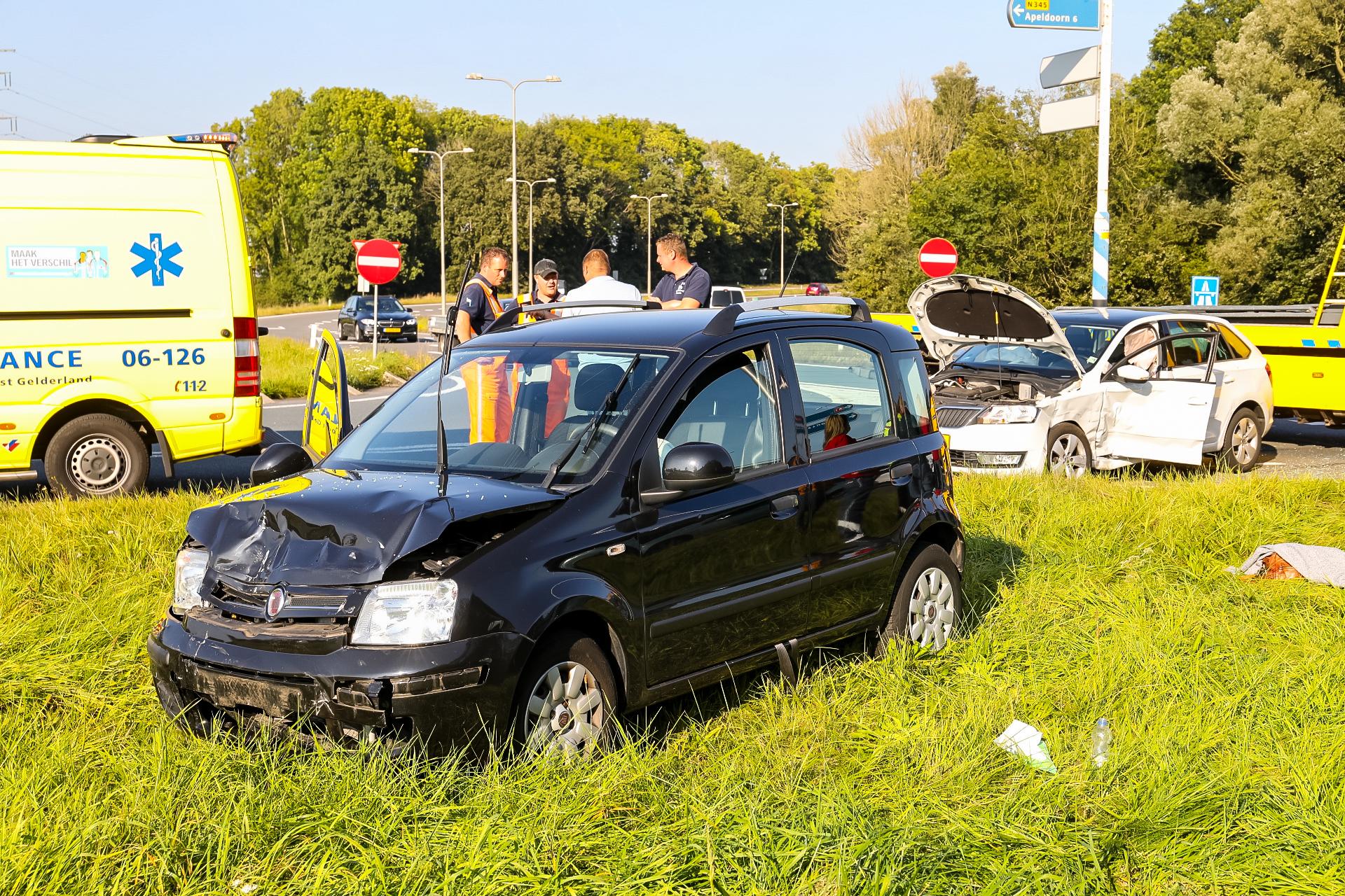 Gewonde bij ongeval Zutphensestraat