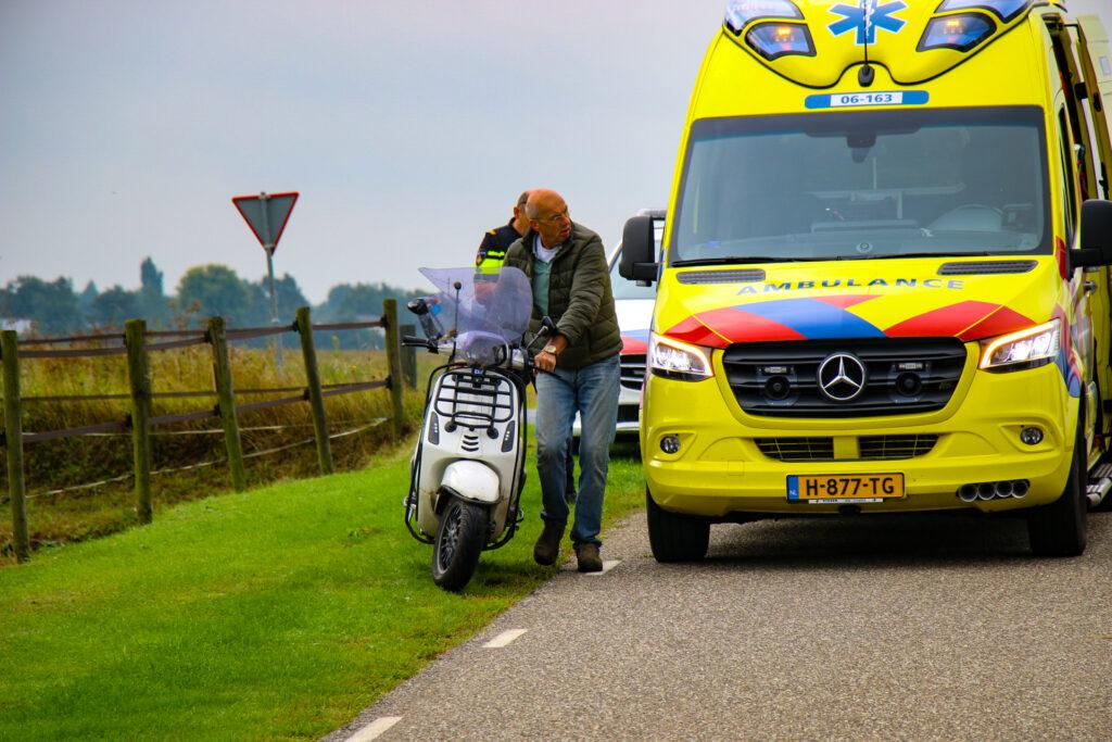 Gewonden bij ongeluk in Zutphen.