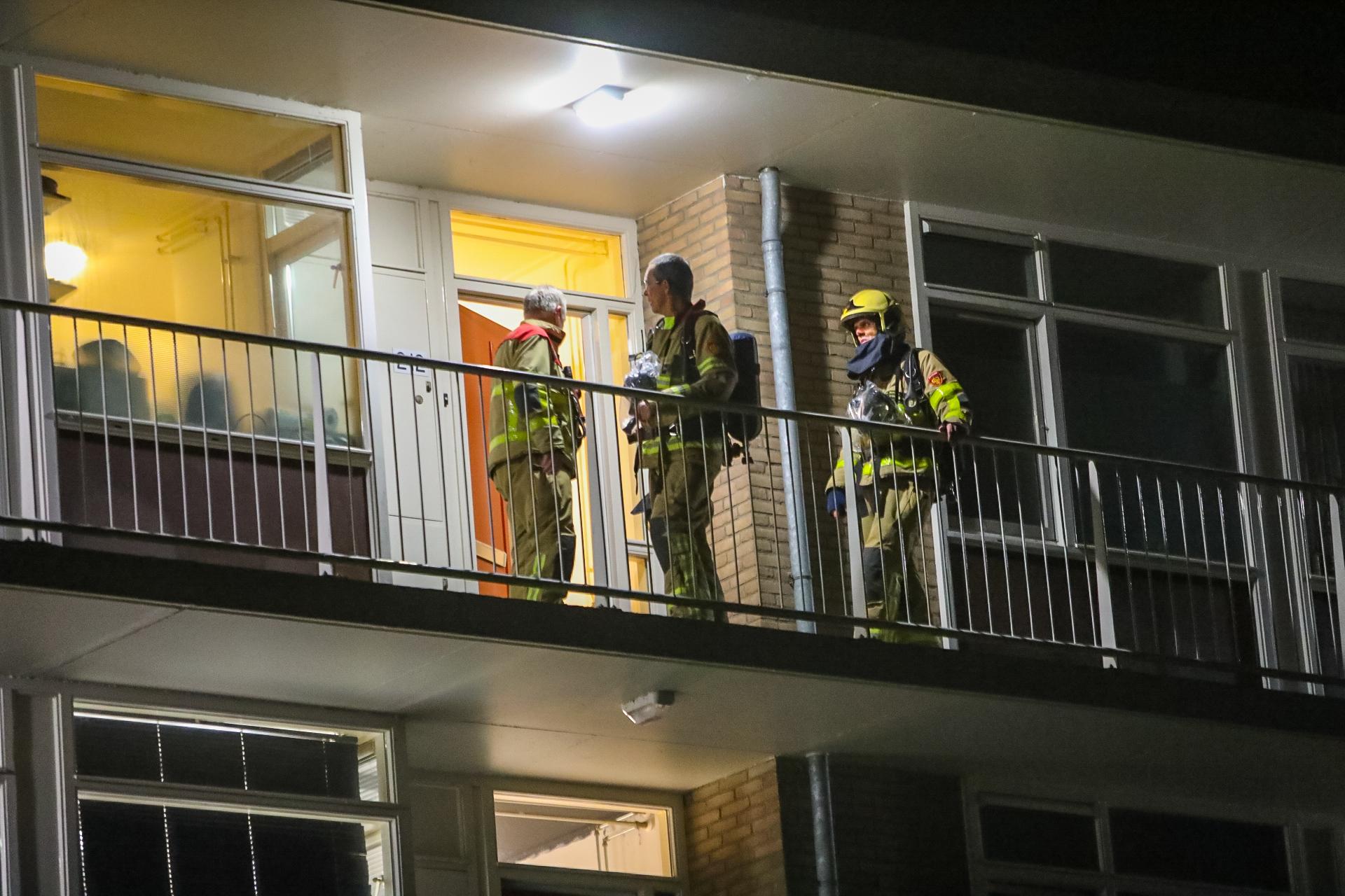 Appartementen ontruimd wegens gaslucht in Apeldoorn