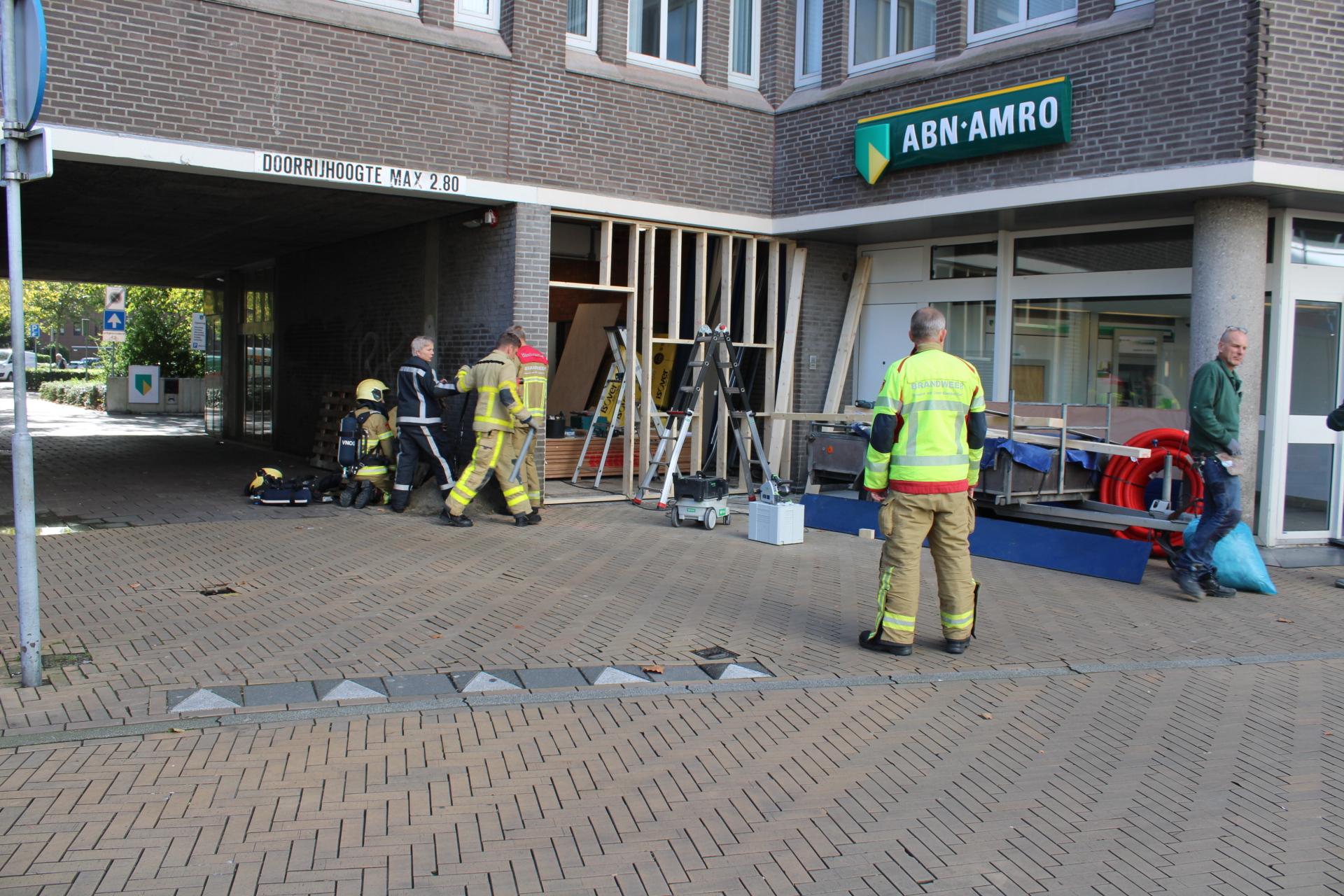 Brandweer opgeroepen wegens gaslek bij ABN AMRO