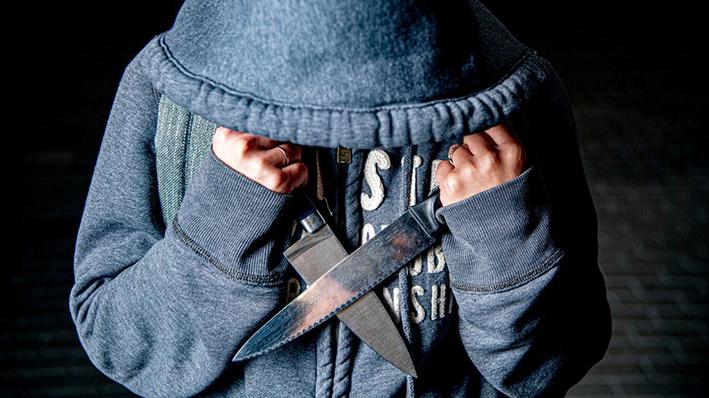 Lever anoniem je steekwapen in