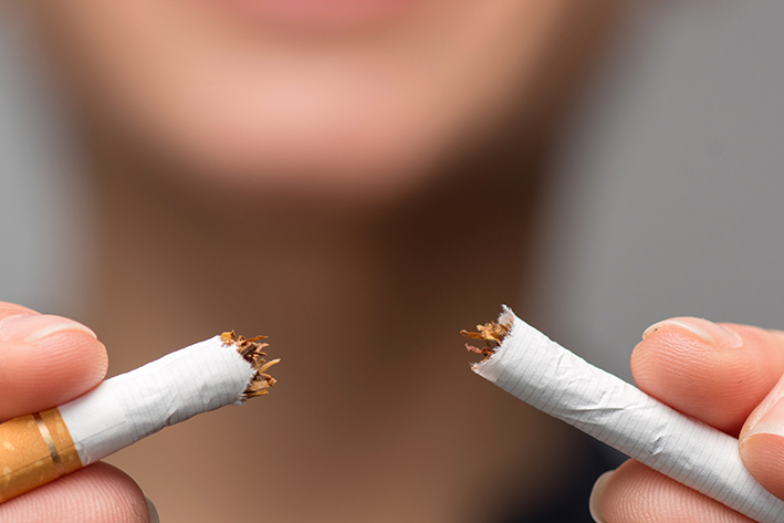 Laatste decennium sterke afname in rokers