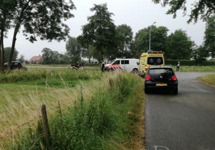 Scooterrijder gewond bij ongeval in Vierakker